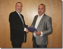 AK Dresden Matthias Purschke ernennt den neuen AK-Leiter Markus Arnold