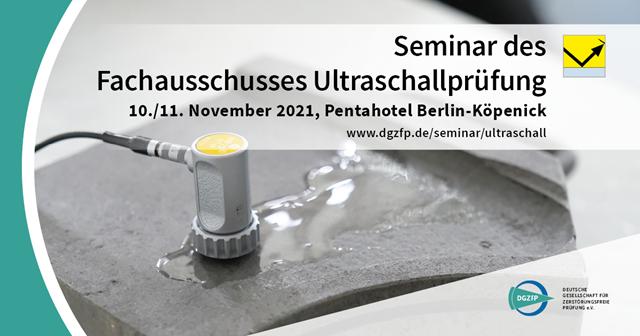 Seminar Ultraschallprüfung