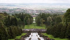 Kaskaden mit Blick auf Kassel