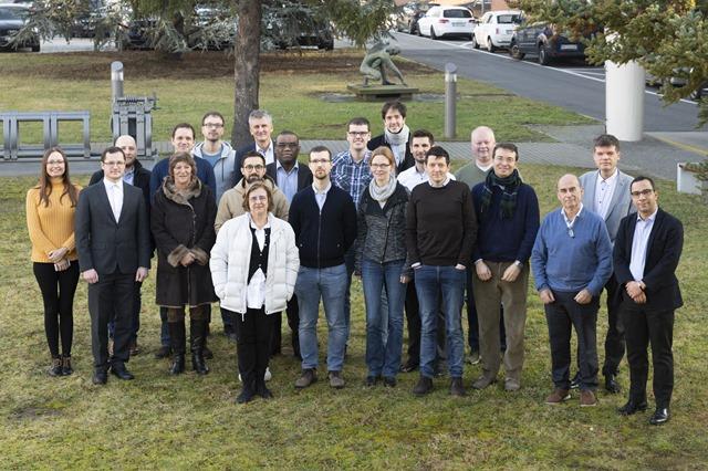 Teilnehmer*innen des Kick-off-Meetings zum GW4SHM-Projekt / ©BAM