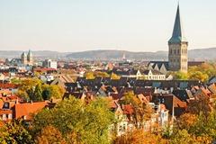 Blick vom Stadthaus über Osnabrück / ©Stadt Osnabrück