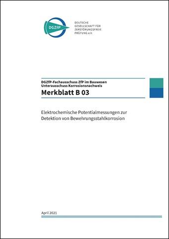 B 03 Deckblatt