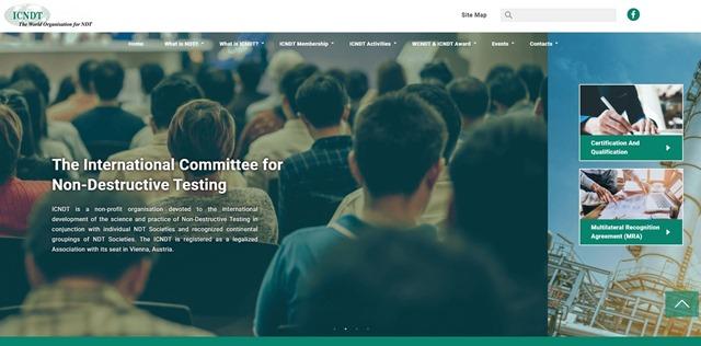 Neue Homepage des ICNDT