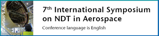 7th International Symposium on NDT in Aerospace