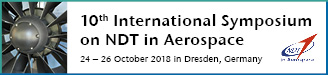 10th International Symposium on NDT in Aerospace